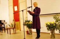 Vészabónoémi festőművésznő megnyitó beszéde